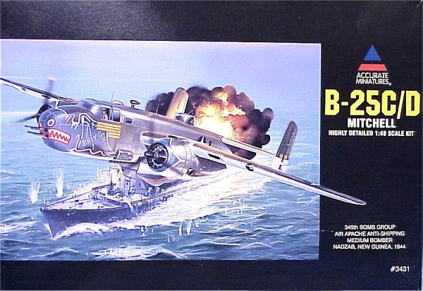 Accurate Miniatures 1 48 B 25c D Mitchell