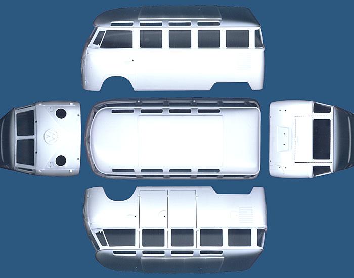 Revell's 1/24 Volkswagen Bus