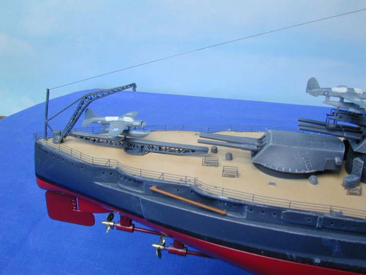 Banner Models 1/350 USS Arizona