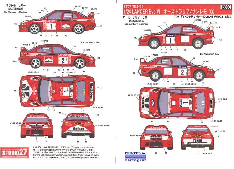 sticker images for lancer car
