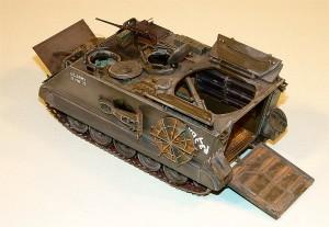 Internet Modeler Tamiya 1 35 M106 Mortar Carrier