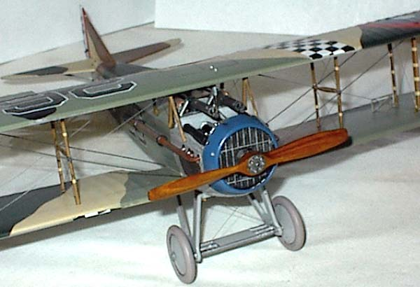 Internet Modeler Dressing Up the Revell 1:28 Spad XIII with