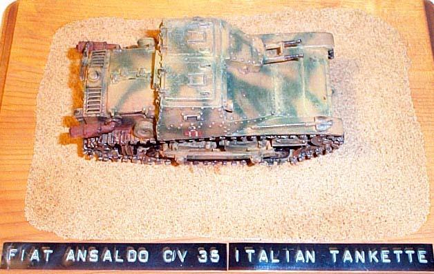 internet modeler kmr 1  35 italian carro armato l3  35 tankette