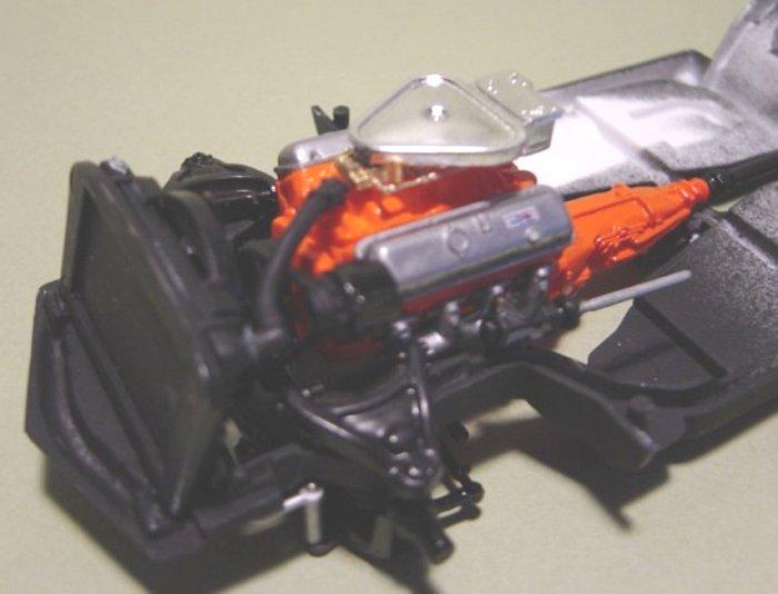 Baldwin Motion Air Cleaner : Revell  baldwin motion corvette