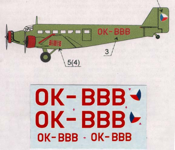 APC Decals 1/144 Junkers Ju-52/3m