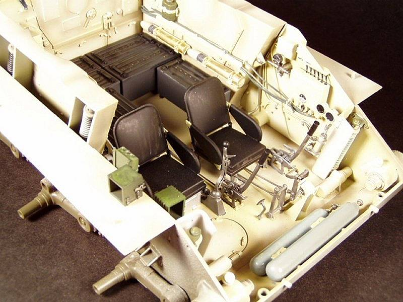1 35 Takom King Tiger With Full Interior The Modelling