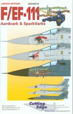Cutting Edge 1/48 F/EF-111 Aardvark & SparkVarks