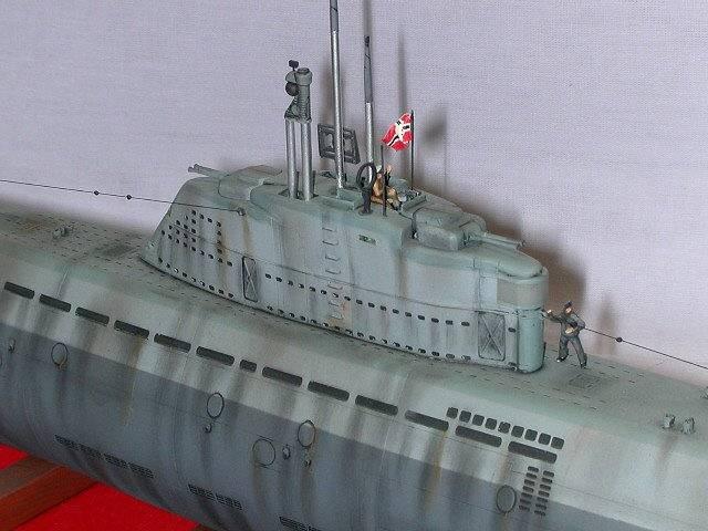 Revell\'s 1/144th Type XXI U-Boat