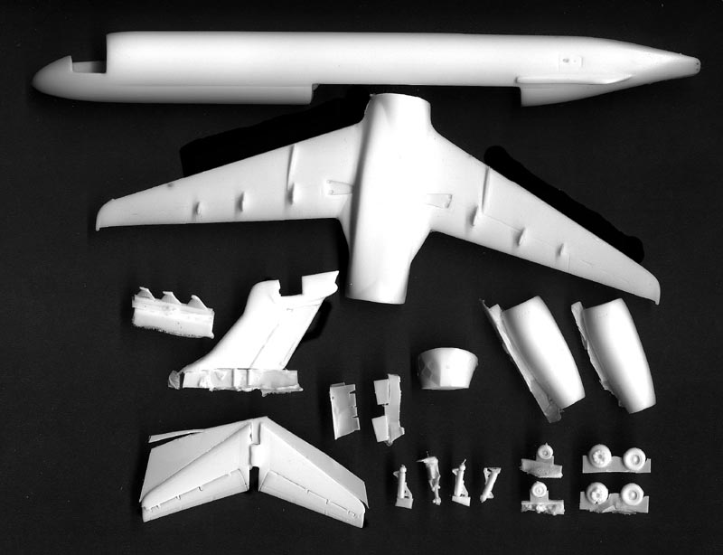 In Formation 1 144 Boeing 717 Resin Kit