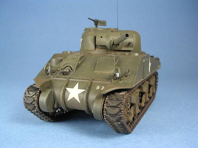 Building the Tamiya 1/48 Scale M4 Sherman