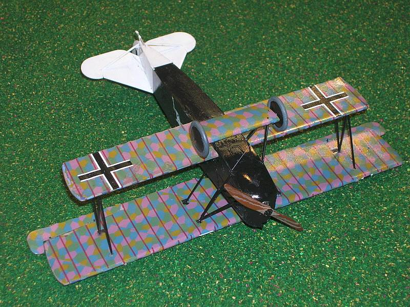 Fokker D.VII Alb /</< Roden #424 late 1:48 scale