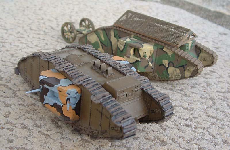Matador 1 76 Mark Ii Tank Conversion From Airfix Kit