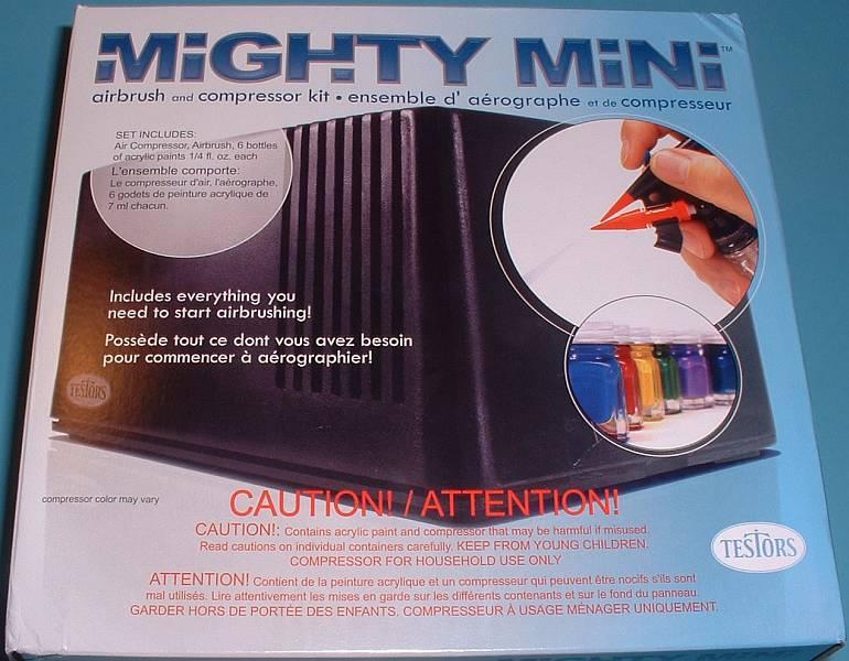Testors Mighty-Mini Airbrush and Compressor Kit