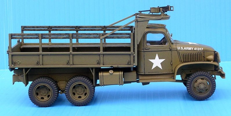 Italeri's 1/35 2 5 ton 6x6 Truck