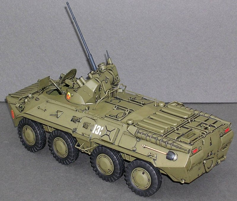 Build: Zvezda's BTR-80A Armored Personnel Carrier