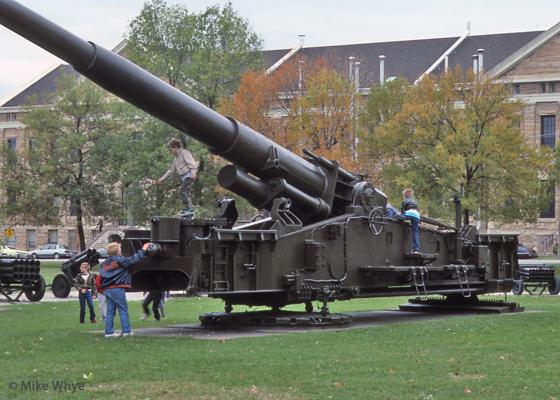 Rock Island Arsenal Museum Artillery