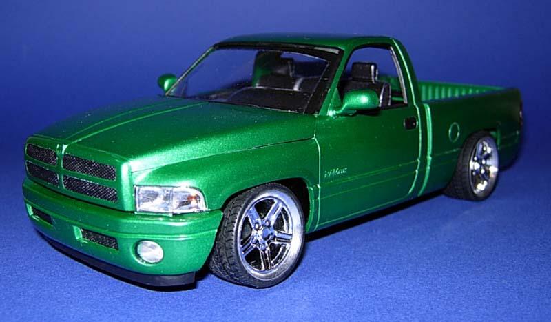 Build Your Own Ford >> Internet Modeler Revell 1/24 Dodge Ram VTS Pickup