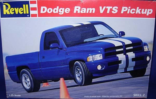 internet modeler revell  dodge ram vts pickup