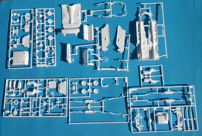 First Look Revell Chevy Parts A