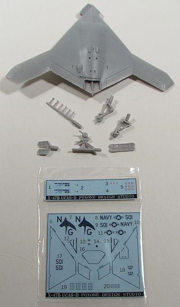 FOX ONE 1/144 Northrop Grumman X-47B 2