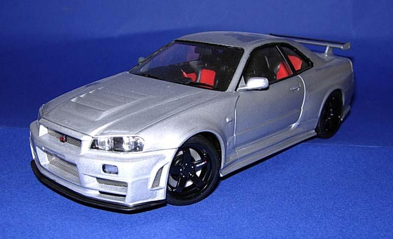 Internet Modeler Tamiya Nismo R34 GT-R Z-Tune