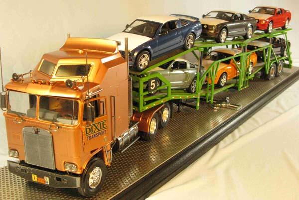 internet modeler amt revell 1 25 kenworth auto transporter. Black Bedroom Furniture Sets. Home Design Ideas