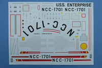 Polar Lights 1/350 Enterprise Decals
