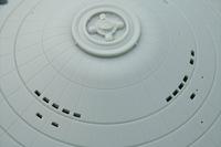 Polar Lights 1/350 Enterprise Surface Detail