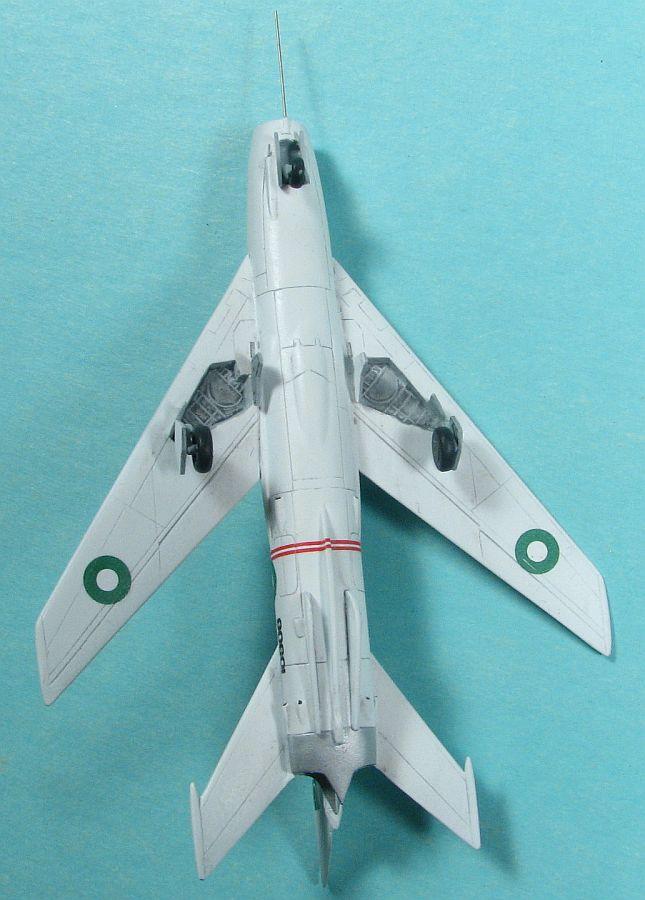 Attack 1/144 Shenyang JJ-6 (FT-6) underside view