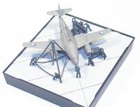 CGD 1/144 WWII German Luftwaffe Ground Crew Set C 3
