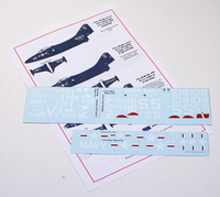 Starfighter Decals 1/72 USN Panthers Part 1 Killer Cats
