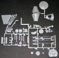 Revell 1/48 Mercury & Gemini Capsule Set Mercury Parts