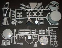 Revell 1/48 Mercury & Gemini Capsule Set Gemini Parts
