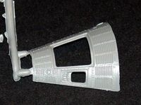 Revell 1/48 Mercury & Gemini Capsule Set Detail