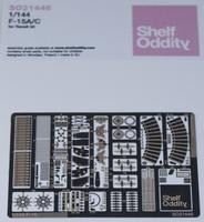 Shelf Oddity 1/144 F-15 Photoetch Detail Set