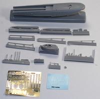 Brengun 1/144 Tupolev G-5 XIII Torpedo Boat Parts