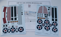 Yellow-Wings Decals 1/32 OS2U Kingfisher Decals 3