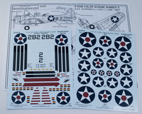 """Yellow-Wings Decals 1/48 USN & USMC SBD-2 Dauntless #2106 """"Midway Madness"""""""