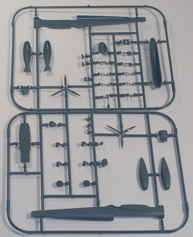 Eduard 1/72 Bf 110C-6 Limited Edition Profipack Parts 3