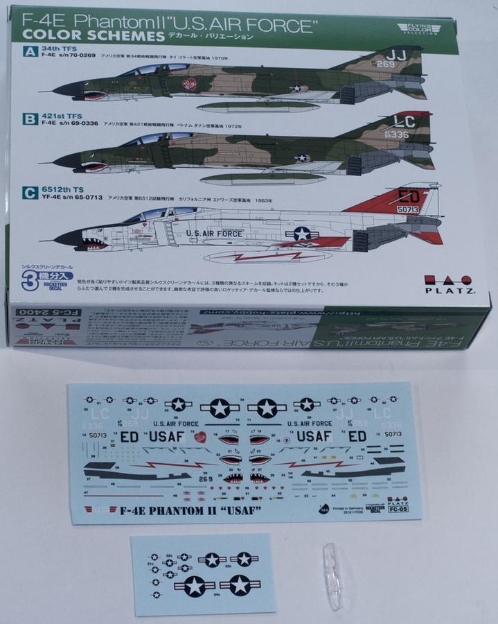"Platz 1/44 F-4E Phantom II ""U.S. Air Force"" 3"