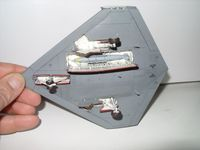 "Platz 1/72 UCAS X-47B ""Army-Navy Game"" 4"