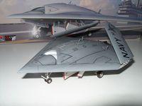 "Platz 1/72 UCAS X-47B ""Army-Navy Game"" 6"