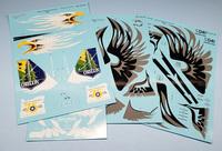 Euro Decal 1/32 F-15 Eagle Oregon ANG Anniversary Scheme