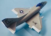 Converting an Airfix 1/72 A-4B into an A4D-1 using Wolfpak Decals 1