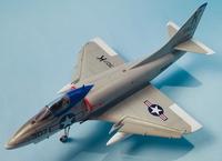 Converting an Airfix 1/72 A-4B into an A4D-1 using Wolfpak Decals 2