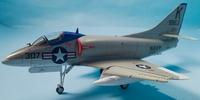 Converting an Airfix 1/72 A-4B into an A4D-1 using Wolfpak Decals 3