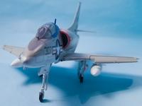 Converting an Airfix 1/72 A-4B into an A4D-1 using Wolfpak Decals 4