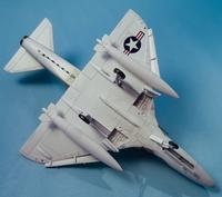 Converting an Airfix 1/72 A-4B into an A4D-1 using Wolfpak Decals 5