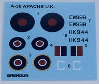 Brengun 1/72 A-36 Apache USAF & RAF 3