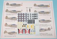 Starfighter Decals 72-165